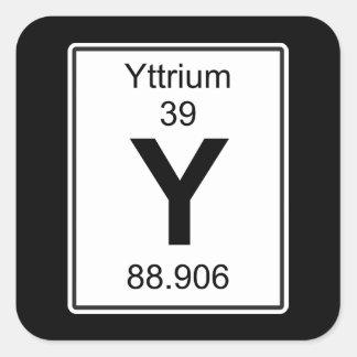 Y -イットリウム スクエアシール