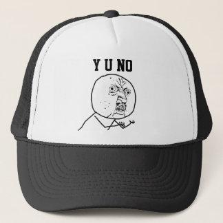 Y Uの非帽子 キャップ