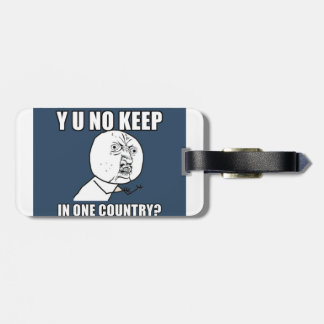 Y Uは1ヶ国で保ちませんか。 ラゲッジタグ
