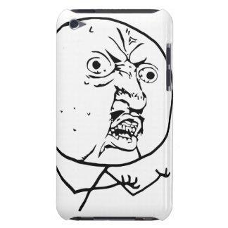 Y U人の喜劇的な顔無し Case-Mate iPod TOUCH ケース