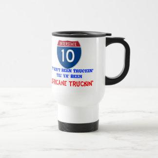 YaはTruckinの白いトラック運転手のコーヒー・マグではないです トラベルマグ