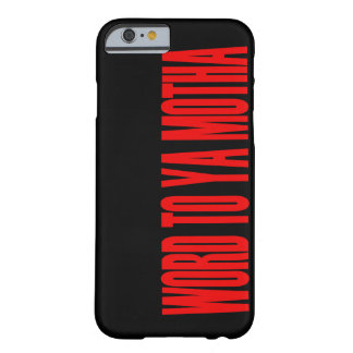 YA MOTHAへの単語 BARELY THERE iPhone 6 ケース
