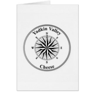 Yadkinの谷Cheese~Compass Notecard カード