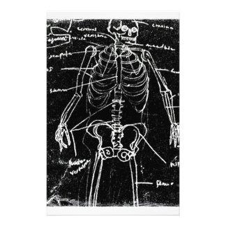 yaieの東京人間の骨組解剖学 便箋