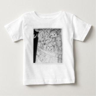 yaieモンスターのマンガの日本製アニメ ベビーTシャツ