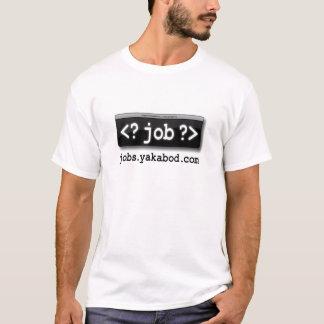 Yakabodの仕事のずっと袖のティー Tシャツ