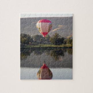 Yakimaの川上の熱気の気球 ジグソーパズル