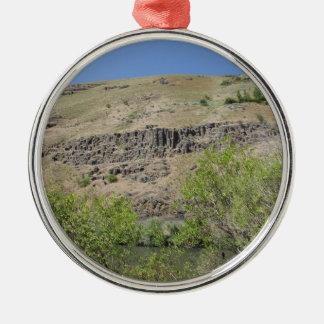 Yakimaの川渓谷 メタルオーナメント