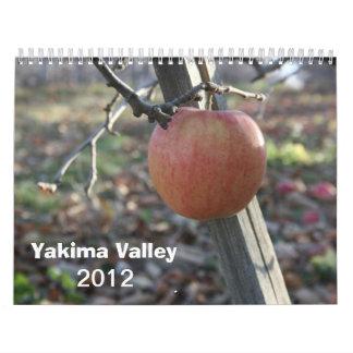 Yakimaの谷2012のカレンダー カレンダー