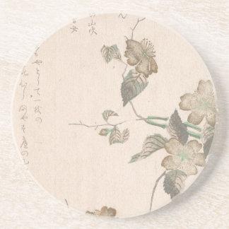 Yamabukiは開花します(kerriaのjaponica) コースター