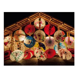 """Yamaga Tourou Festival in Kumamoto""(山鹿灯籠浪漫・熊本)日本 ポストカード"