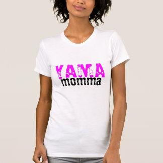 Yamahaのママ! ワイシャツハーレーに乗りたいと思って下さい! tシャツ