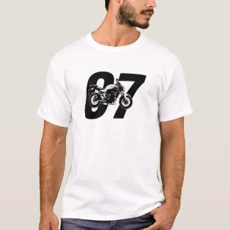 Yamaha MT-07 FZ-07のオートバイMT07 FZ07 Tシャツ