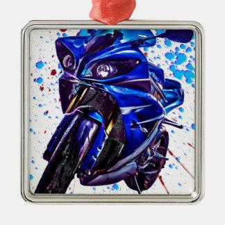 Yamaha YZF R1の芸術のプリント メタルオーナメント