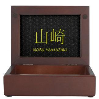 Yamazakiのモノグラム ジュエリーボックス