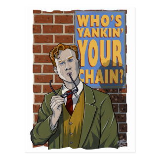 Yankinはだれあなたの鎖ですか。 ポストカード