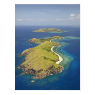 Yanuyaの島、Mamanucaの島、フィージー ポストカード