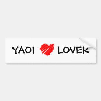 YAOIの恋人のバンパーステッカー バンパーステッカー