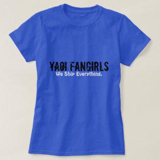 Yaoi Fangirlのティー Tシャツ