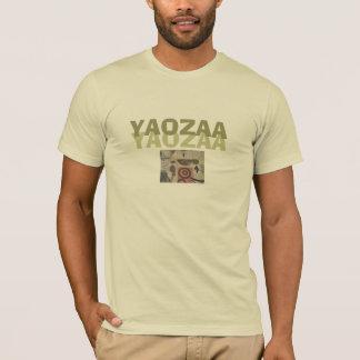 YAOZAA -ベージュF Tシャツ