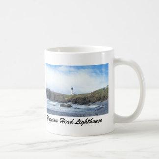 Yaquinaのヘッド灯台マグ コーヒーマグカップ