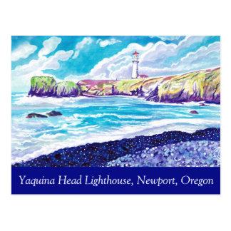Yaquinaのヘッド灯台郵便はがき ポストカード
