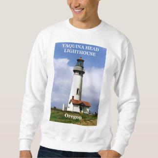 Yaquinaのヘッド灯台、オレゴンのスエットシャツ スウェットシャツ