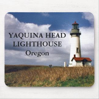 Yaquinaのヘッド灯台、オレゴン マウスパッド