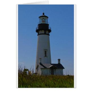 Yaquinaのヘッド灯台 カード