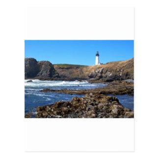 Yaquinaのヘッド灯台 ポストカード