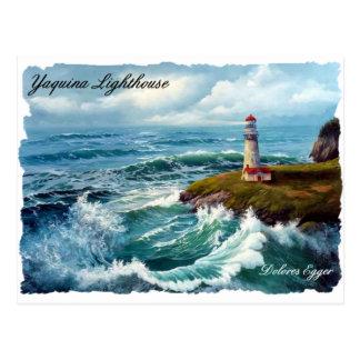 Yaquinaの灯台郵便はがき ポストカード