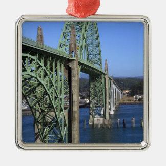 Yaquina湾に及ぶYaquina湾橋 メタルオーナメント