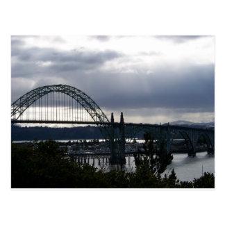 Yaquina湾橋 ポストカード