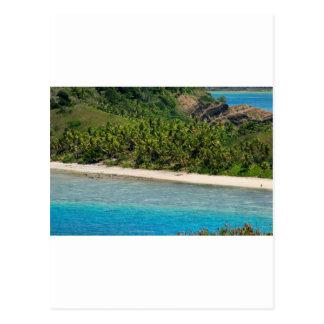 Yasawasのビーチ、フィージー ポストカード