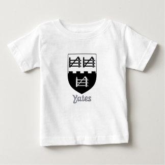Yates家族の盾 ベビーTシャツ
