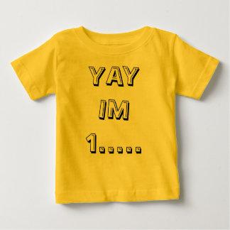 YAY IM 1 ..... ベビーTシャツ