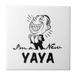 Yayaの微笑の新しいTシャツおよびギフト タイル