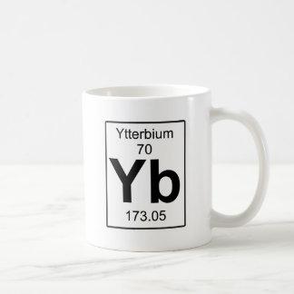 Yb -イッテルビウム コーヒーマグカップ