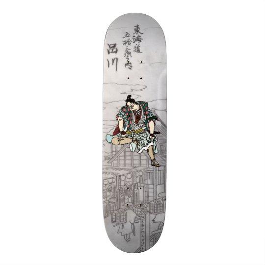 YBsamurai 21.6cm スケートボードデッキ