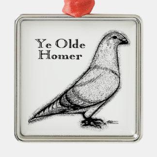 Ye Oldeホーマー メタルオーナメント
