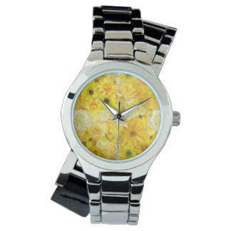 Yellow Rose Friendship Bouquet Gerbera Daisy 腕時計