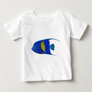 Yellowband angelfish ベビーTシャツ