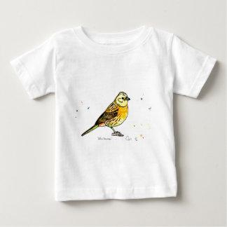 Yellowhammerの鳥 ベビーTシャツ
