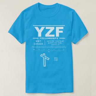 Yellowknife空港YZF Tシャツ