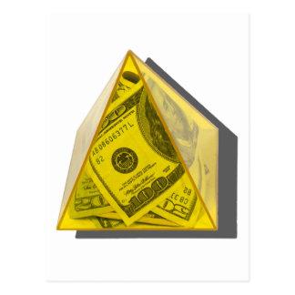 YellowPowerPyramidMoney021411 ポストカード