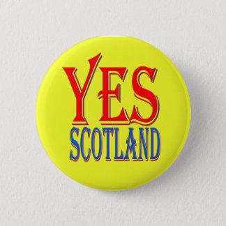 YESのスコットランドピンバッジ 缶バッジ