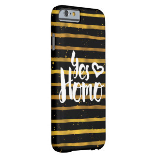 Yesのヒト属LGBTのプライド Barely There iPhone 6 ケース