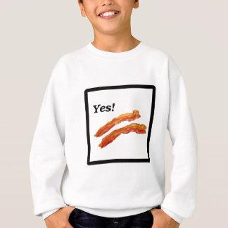 Yesのベーコン スウェットシャツ