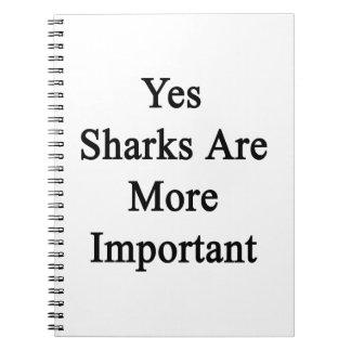 Yesの鮫はより重要です ノートブック