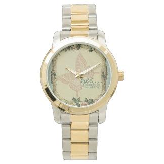 Yesの…シンプルは美しいです 腕時計